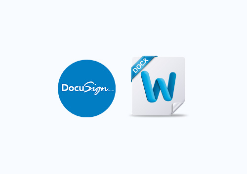 How to Sign Word Document with DocuSign for Word
