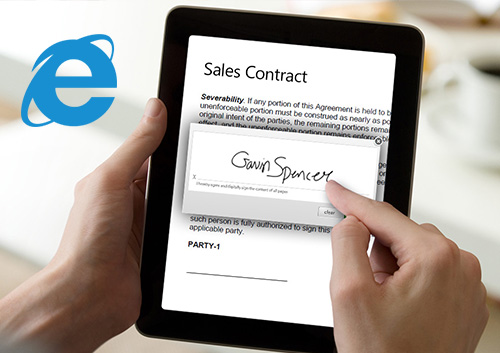 Online Contract Signing - Sign Your Contracts Online