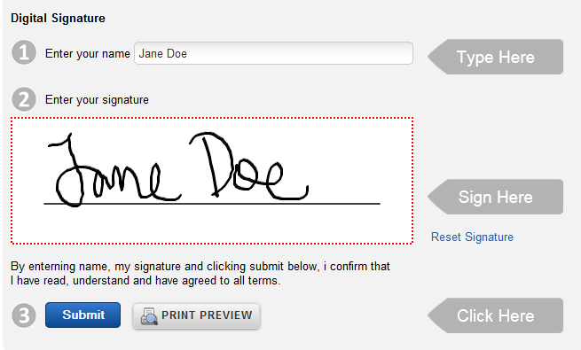 how to create digital signature online