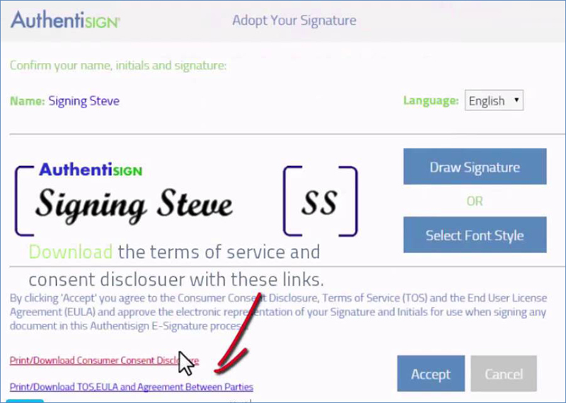 authentisign vs docusign