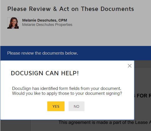 docusign help