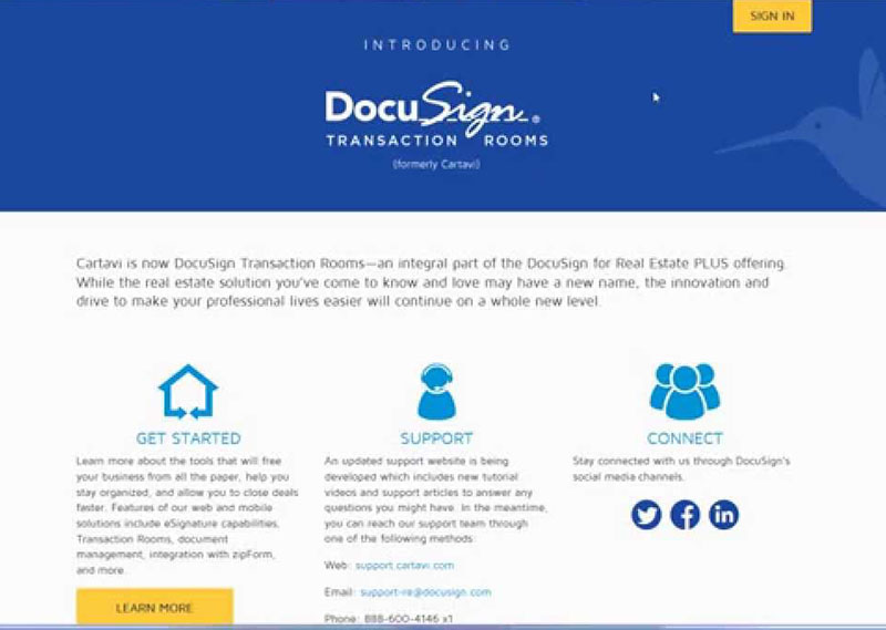 How to Use DocuSign Transaction Room for Realtors