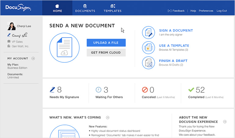 docusign vs authentisign