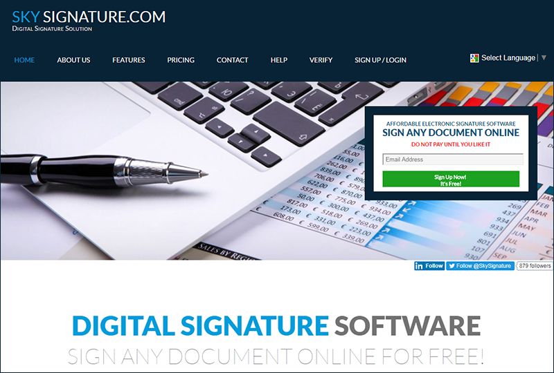 free digital signature software