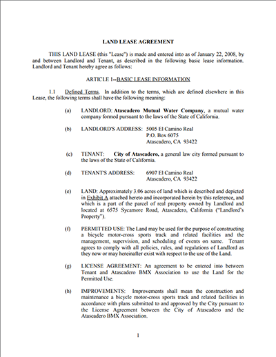 Standard lease agreement templates free download edit for Farm rental agreement template