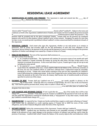 logging contract template - house rental agreement template free download edit print