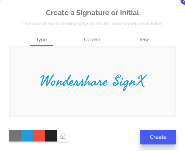 how to insert electronic signature