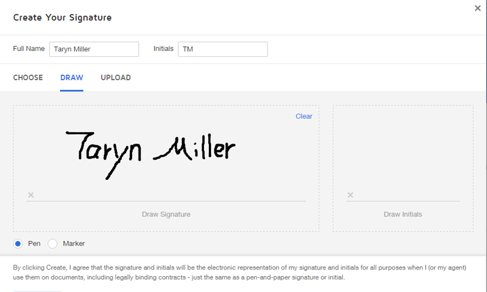 how to put a signature on a pdf